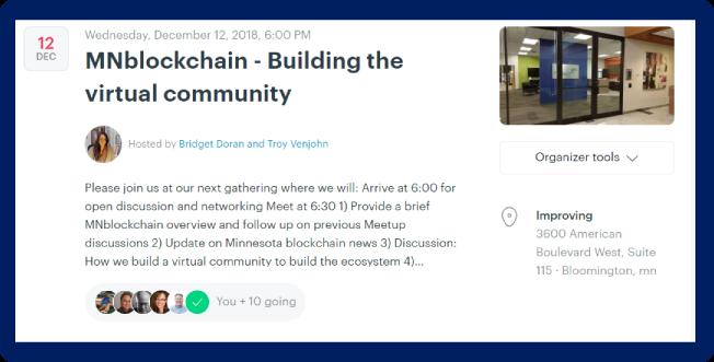 MNblockchain Events – Minnesota Blockchain Initiative